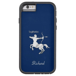 Navy Blue Sagittarius Zodiac Tough Xtreme iPhone 6 Case