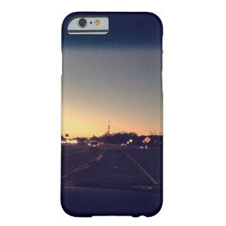 Navy blue sunset iPhone 6/6s case