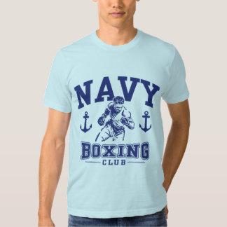 Navy Boxing Tshirt