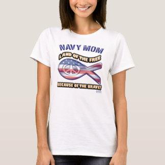 NAVY_BRAVE_MOM T-Shirt