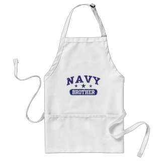 Navy Brother Adult Apron