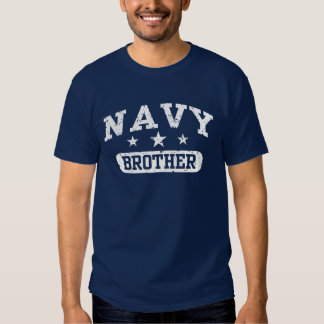 Navy Brother Tshirt