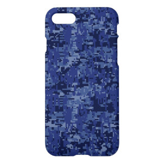 Navy Camo Background Ready to iPhone 7 Case
