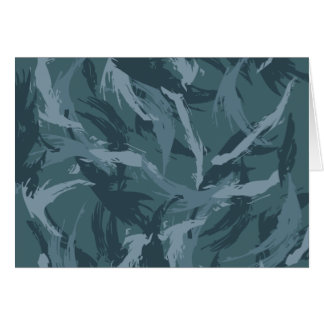 Navy Camouflage Card