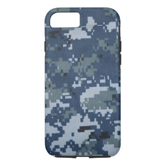 Navy Camouflage iPhone 7 case