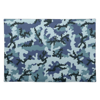 Navy camouflage placemat