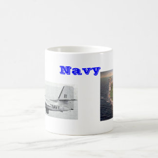 Navy Coffee Mug