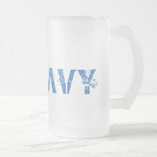 Navy cold mug