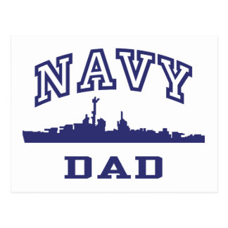 Navy Dad Post Cards
