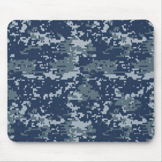 Navy Digital Camouflage Mousepad