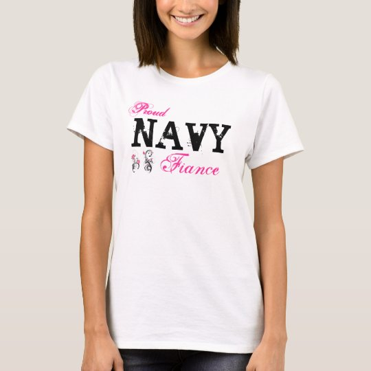 Navy Fiance T-Shirt