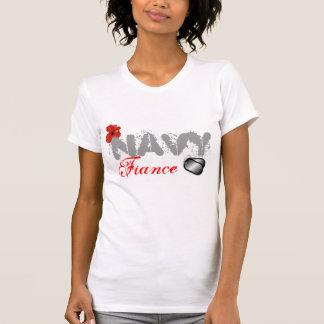 Navy Fiance T-Shirt
