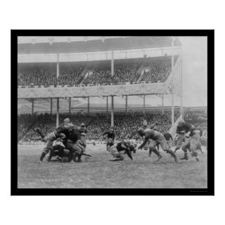 Navy Football at the Polo Grounds, NY 1916 Poster
