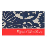 Navy for Fall Business Cards Asian Blue