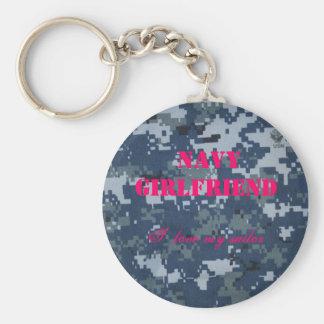 Navy Girlfriend, I  love my sailor Keychain