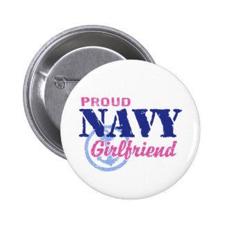 Navy Girlfriend Pin