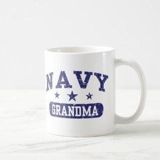 Navy Grandma Coffee Mug
