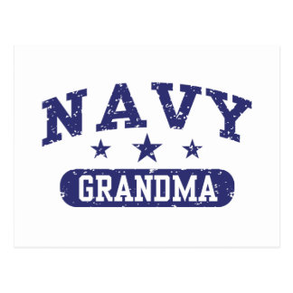 Navy Grandma Postcard