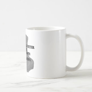 Navy Grandpa CB Granddaughter Coffee Mug