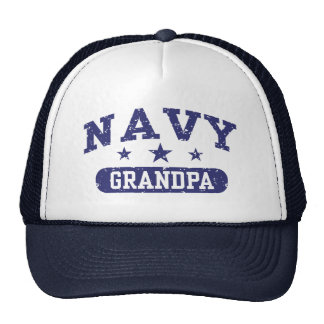 Navy Grandpa Hats