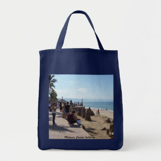 Navy Grocery Bag Malecon