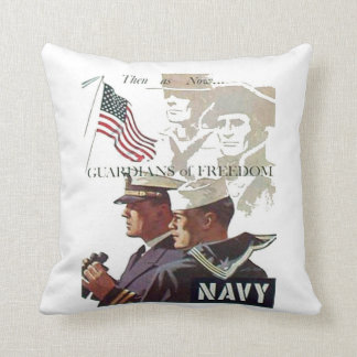 Navy Guardians of Freedom Pillow