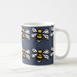 Navy Humble Bumblebee Mug