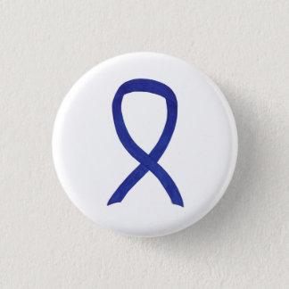 Navy, Indigo, Dark Blue Awareness Ribbon Pin