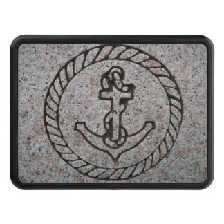 Navy Insignia Boat Anchor Trailer Hitch Cover