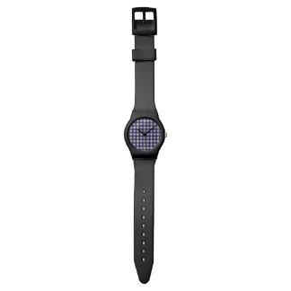 Navy Kaleidoscope Pattern Watch