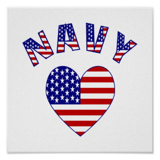 Navy Love Poster