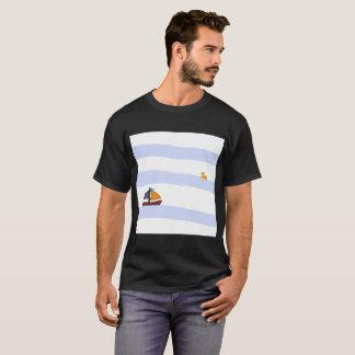 NAVY MARITIME TEE-SHIRT BLACK/BLACK T-Shirt