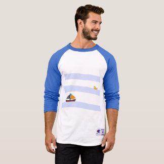 NAVY MARITIME TEE-SHIRT BLUE/BLUE T-Shirt