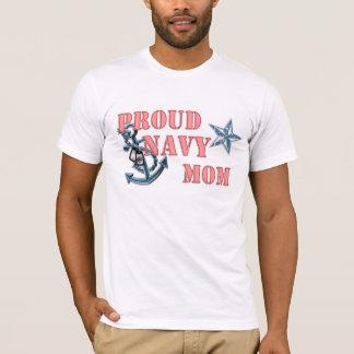 Navy Mom anchor T-Shirt