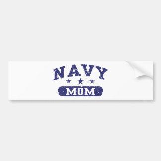 Navy Mom Bumper Sticker
