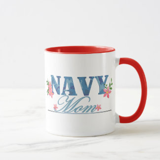 Navy Mom (Cammo) Mug