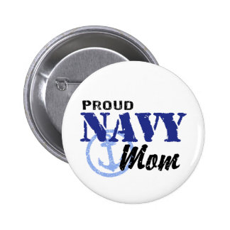 Navy Mom Pinback Buttons