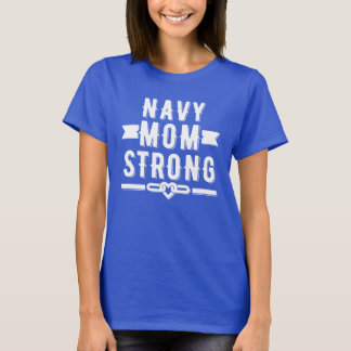 Navy mom strong women's graphic T-Shirt