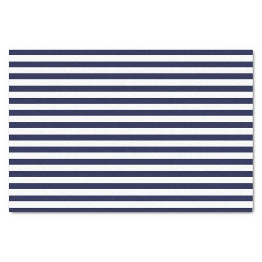 Navy Nautical Tissue Paper