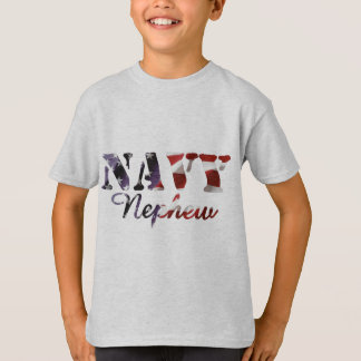 Navy Nephew American Flag T-Shirt