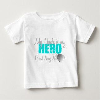 Navy Niece Hero Uncle Baby T-Shirt