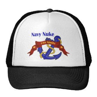 Navy Nuke ~ USS Nimitz Trucker Hat