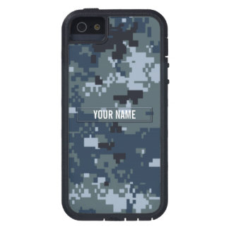 Navy NWU Camouflage Customizable iPhone 5 Cover
