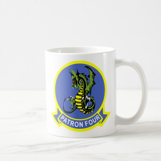 Navy Patrol Squadron VP-4 Coffee Mug