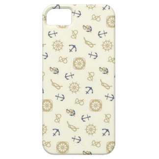 Navy pattern blue anchors iPhone 5 covers