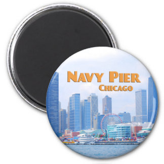 Navy Pier - Chicago Illinois Magnet