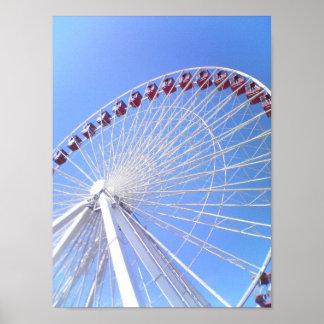 Navy Pier Ferris Wheel Poster