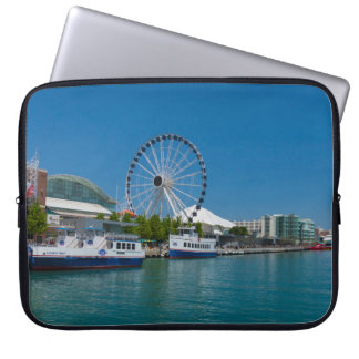 Navy Pier Laptop Sleeve