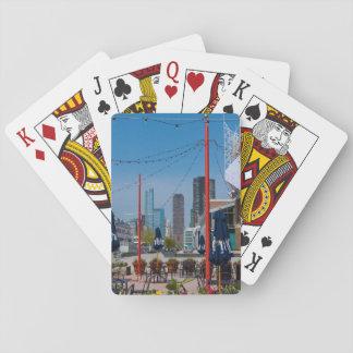 Navy Pier Lines Poker Deck