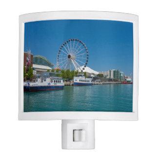 Navy Pier Night Lights